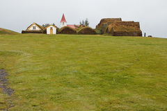 Glaumbaer historic village Stock Photos