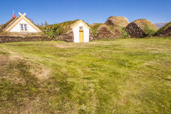 Glaumber farm - Iceland. Royalty Free Stock Photo