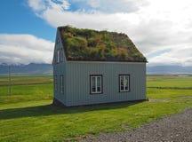 Glaumber - museu popular ao ar livre - wi islandêses da casa do tradicional imagens de stock