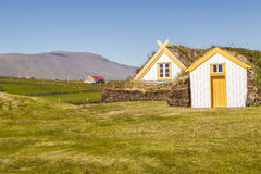 Glaumber old farm - Iceland. Stock Image