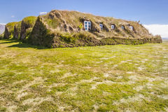 Glaumber old traditional Icelandic farm. Royalty Free Stock Photo