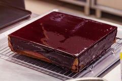 Glazed cake Royalty Free Stock Photography
