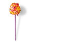 Glazed candy on a stick. Stock Photo