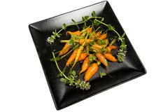 Glazed carrots Royalty Free Stock Image