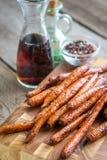 Glazed carrots Stock Photos