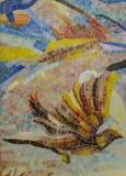 Glazed ceramic mosaic puzzle royalty free stock image