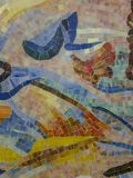 Glazed ceramic mosaic puzzle Stock Image