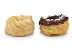 Glazed crullers Royalty Free Stock Photography