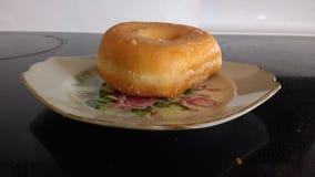 Glazed donut Grandma China Stock Image