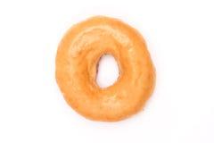 Glazed Donut on White background Stock Photos