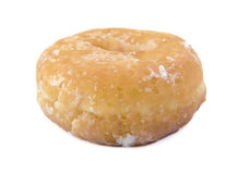 Glazed Donut on white background. Doughnut. Stock Images