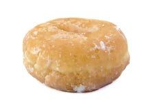 Glazed Donut on white background. Doughnut. Stock Images