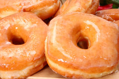 Glazed Donuts Royalty Free Stock Images
