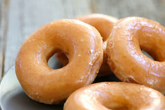 Glazed donuts Royalty Free Stock Photo