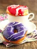 Glazed donuts Stock Photography