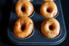 Glazed donuts Royalty Free Stock Photography