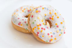 Glazed donuts Stock Photos