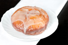 Glazed Doughnut Stock Photography