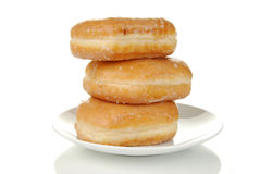 Glazed doughnuts Stock Photo