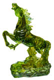 Glazed Glass Horse Stock Photo