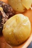 Glazed onion closeup Stock Photos