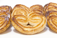 Glazed palmiers Stock Images