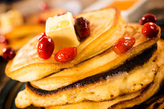 Glazed pancakes Royalty Free Stock Images
