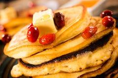 Glazed pancakes Royalty Free Stock Images