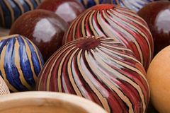 Glazed Pottery Stock Images
