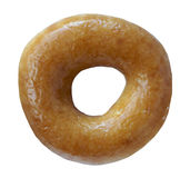 Glazed Ring Donut Royalty Free Stock Photos