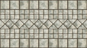 Glazed tile Stock Photography
