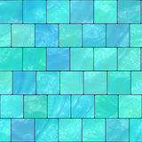 Glazed tile. Illustration of the glazed tile seamless background Royalty Free Stock Images