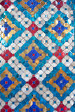 Glazed tile background. Colorful glazed tile pattern background Stock Photo