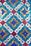Glazed tile background Stock Photo