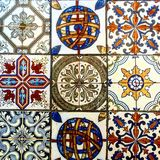 Glazed tile ceramic Royalty Free Stock Photo