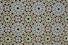 Glazed Tile Design Royalty Free Stock Image