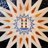 Glazed tiles, azulejos, Alhambra palace in Granada, Spain Stock Photo