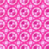 Glazed tiles. The pattern in the form of rings, background Stock Photos