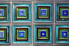 Glazed tiles Royalty Free Stock Photo