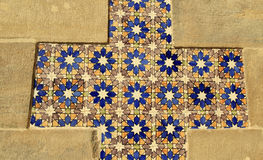 Glazed tiles Royalty Free Stock Photography
