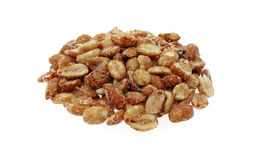 Glazed Toasted Peanuts Mound Stock Photo