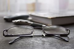 Glazen Stock Foto's