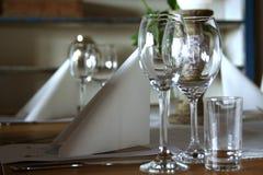 Glazen Royalty-vrije Stock Foto's