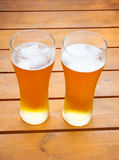 Glazen bier Royalty-vrije Stock Foto