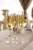 Glazen champagne Stock Afbeelding