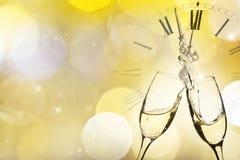 Glazen champagne Royalty-vrije Stock Afbeelding