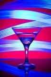 Glazen met cocktail in een nachtclub Royalty-vrije Stock Foto