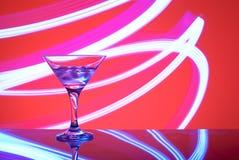 Glazen met cocktail in een nachtclub Royalty-vrije Stock Fotografie