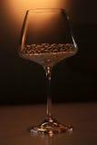 Glazen met harten Royalty-vrije Stock Afbeeldingen