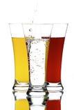 Glazen met sap Royalty-vrije Stock Fotografie